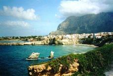 Terrasini am Golf von Castellammare