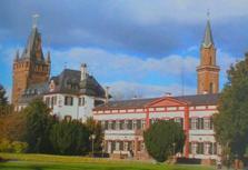 der Schloßpark von WEinheim a.d.Bergstrasse